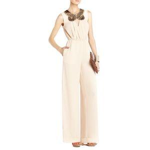 NWT BCBG Garnet Pink Pantsuit X-Small